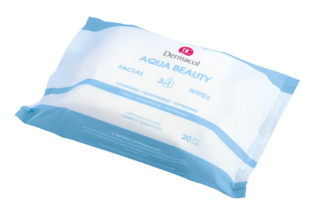 Aqua Beauty facial make-up removing wipes
