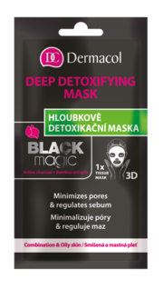Tissue deep detoxifying mask